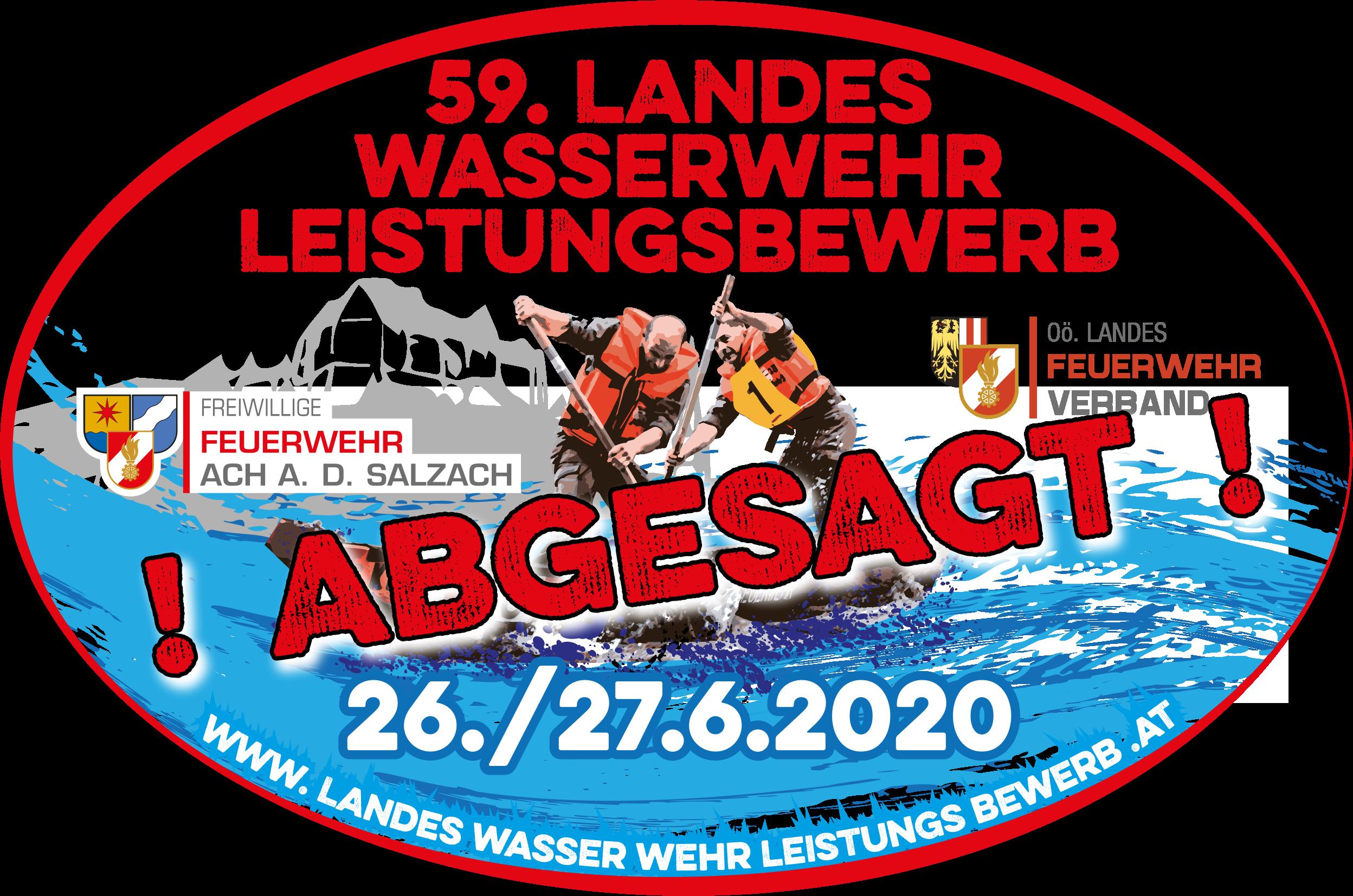 59. Landes-Wasserwehrleistungsbewerb in Ach/Salzach